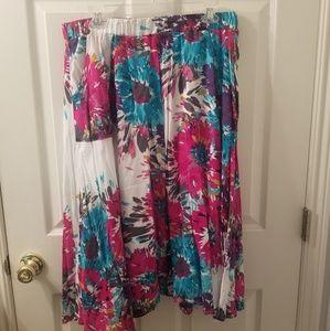 Old Navy Midi Skirt (Floral)